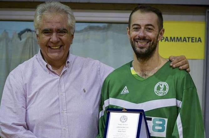 H Αθλητική Ένωση Ψυχικού τίμησε τους αθλητές Θωμά Νίκου, Πέτρο Νοέα, Νίκο Τσιώκο.