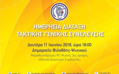Γενική Συνέλευση Aθλητικής 'Ενωσης Ψυχικού