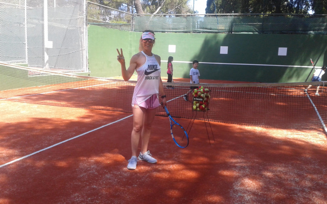 Ανακαίνιση του γηπέδου μίνι τένις & προγραμματισμένη αντικατάσταση χλοοτάπητα του γηπέδου 2